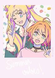 Magical Girl Summer Vibes by Ailish-Lollipop
