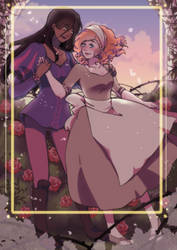 Rose and Ivy by Ailish-Lollipop