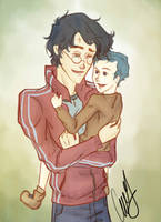 Teddy's Loving Godfather by AniPokie
