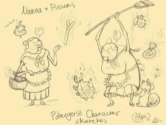 Nanna+Pussums [Poltergeist] by GeezGeorge