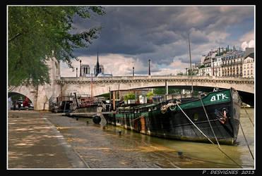 quai de Tournelle by bracketting94