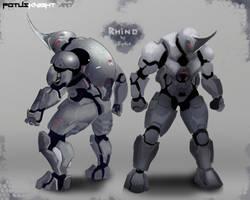 Rhino SCI-FI Concept by FotusKnight