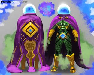 Mysterio SCI-FI Concept by FotusKnight