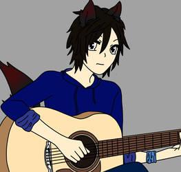 Matt can play the guitar  by Matsie917
