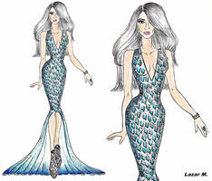 Fashion Illustration - Lady Gaga inspired. by Born-This-Way94