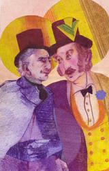 George Litefoot and Henry Gordon Jago by jossujb