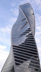 Evolution Tower in Moscow City by viconiadevir