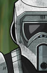 scout trooper digital sketch card by DarkSunProductions