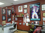 My work desk by SpikeJones67