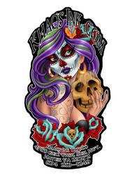 Khaos Sticker by SpikeJones67