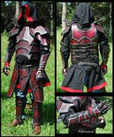 Draconic murderer's armor by ArtisansdAzure