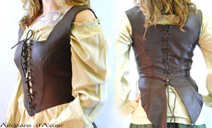 The fiddler's corset by ArtisansdAzure