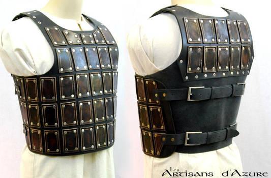 Short Brigandine Breastplate by ArtisansdAzure