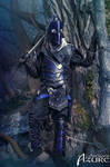 Dark Elf Armor by ArtisansdAzure