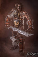 Grommash Hellscream - Horde - World of Warcraft by ArtisansdAzure