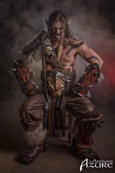 Grommash Hellscream - Horde - World of Warcraft 2 by ArtisansdAzure