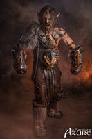 Grommash Hellscream - Horde - World of Warcraft 3 by ArtisansdAzure