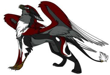 Wyvern, my Griffin Fursona by RikkuWolfsBane