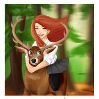 Jily Deer by Tetra-Zelda
