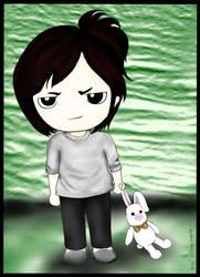 Hwang Tae Kyung w pig rabbit by leleyu