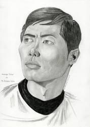 2017-07-30-Portrait-Gerge Takei aka Mr Sulu by SethApophis