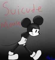 Creepypasta Suicide Mouse + Speedpaint by CandySugarSkullGirl9