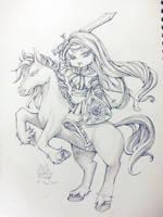 Warrior Princess by xXYukiNoUsagiXx