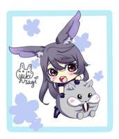 The Rabbit and the Hamster by xXYukiNoUsagiXx