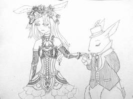 Royal Rabbits by xXYukiNoUsagiXx
