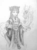 The Daughter of a Dragon by xXYukiNoUsagiXx