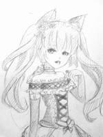NekoMimi Lolita by xXYukiNoUsagiXx