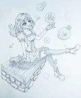 flower bubbles by xXYukiNoUsagiXx