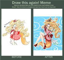 Draw This Again! - 2011 vs 2015 by xXYukiNoUsagiXx