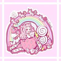 [CE] Luella's Unicorn Fantasy Seal Patch by xXYukiNoUsagiXx