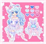 My Sweet Heart Doll Yumi O'Bear by xXYukiNoUsagiXx