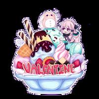 [CM] Valentine - Icecream Mountain by xXYukiNoUsagiXx