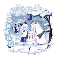 [CM] Shiro - Fun in the Snow by xXYukiNoUsagiXx