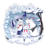 [CM] Shiro - Fun in the Snow by xXYukiNoUsagiXx