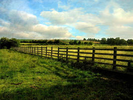 Pasture Fence by SolStock