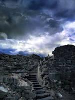 Stairway Ruins by SolStock