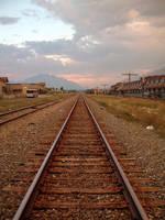 Train Tracks by SolStock