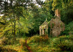 Country Cottage with texture by SolStock