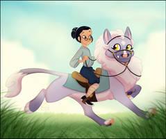 [Kirara] Riding by NattiKay