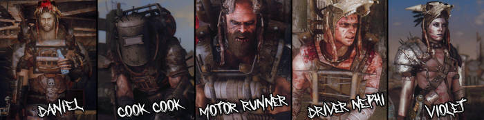 Raiders of New Vegas Banner by dragbody