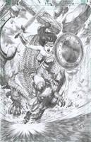 WOnder Woman by ashkel