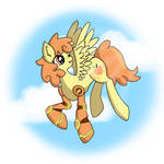 Peachy Punch - Request for Spitfire740 by SakuraDrawingPencil
