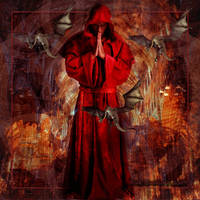 Dark Red Wizard by Rickbw1