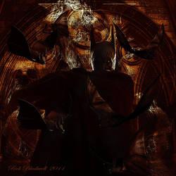 BATMAN SEPIA by Rickbw1