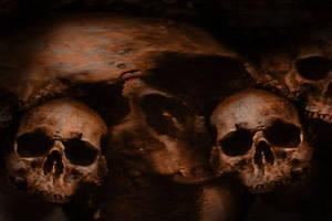 Skulls V.4 by Rickbw1