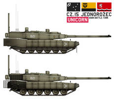 Cz.15 Unicorn by CountGooseman